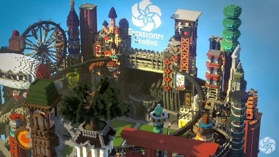 2016 Minecraft Builders Convention Arena
