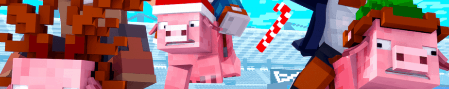 Ultimate Pig Race Minecraft Marketplace Map Key Art