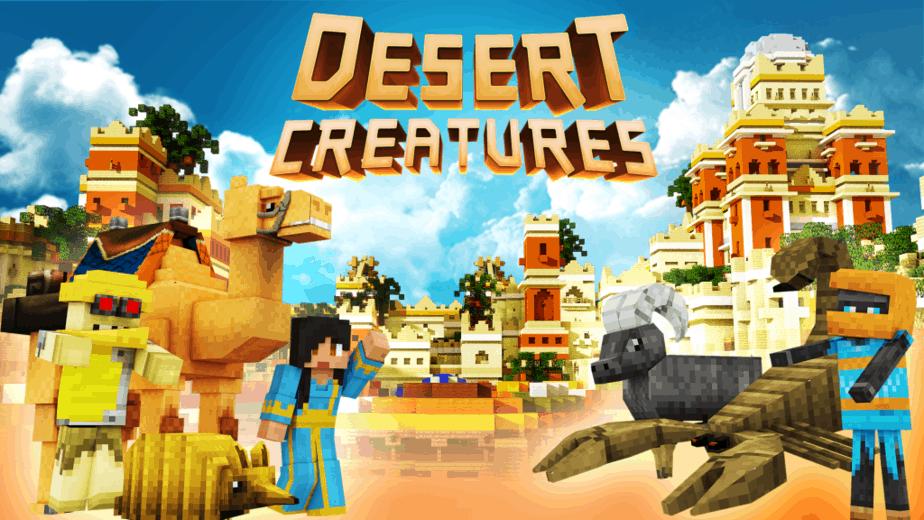 Desert Creatures Key art No logo