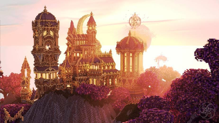 Minecraft Build A Lunar Dream 1