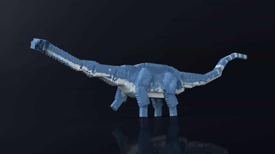 Jurassic Depths Minecraft Marketplace dinosaur diplodocus