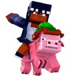 Ultimate Pig Race Minecraft Marketplace Map Pig Racer