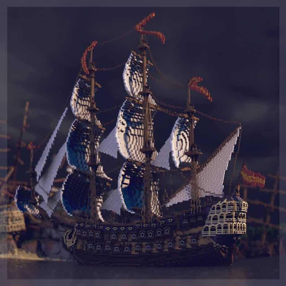 Shipwreck Shantyown Minecraft Marketplace Map Render 1