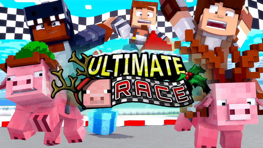 Minecraft Marketplace Map Pig Race