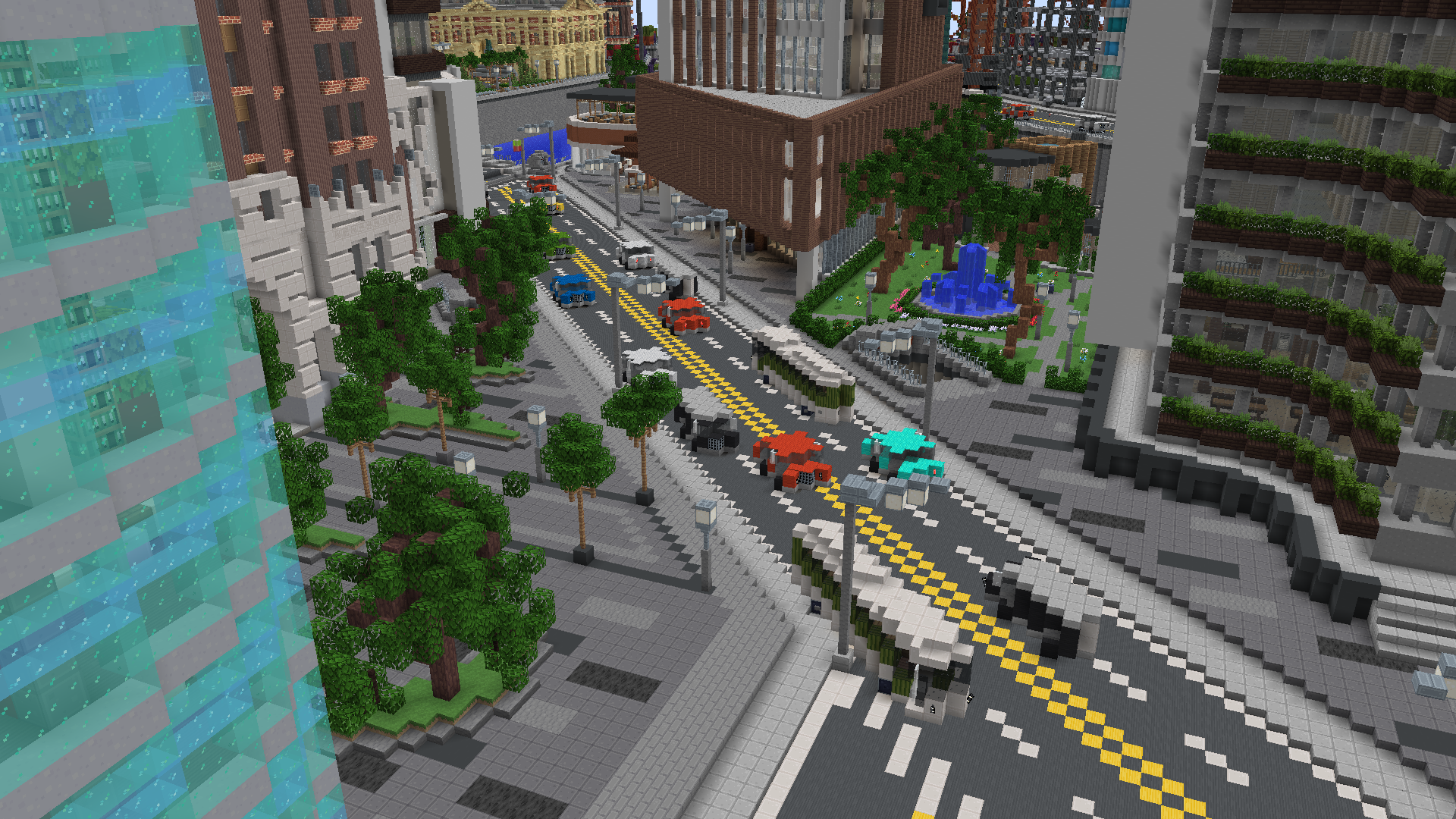 City Mash-Up Pack - Minecraft Marketplace Map