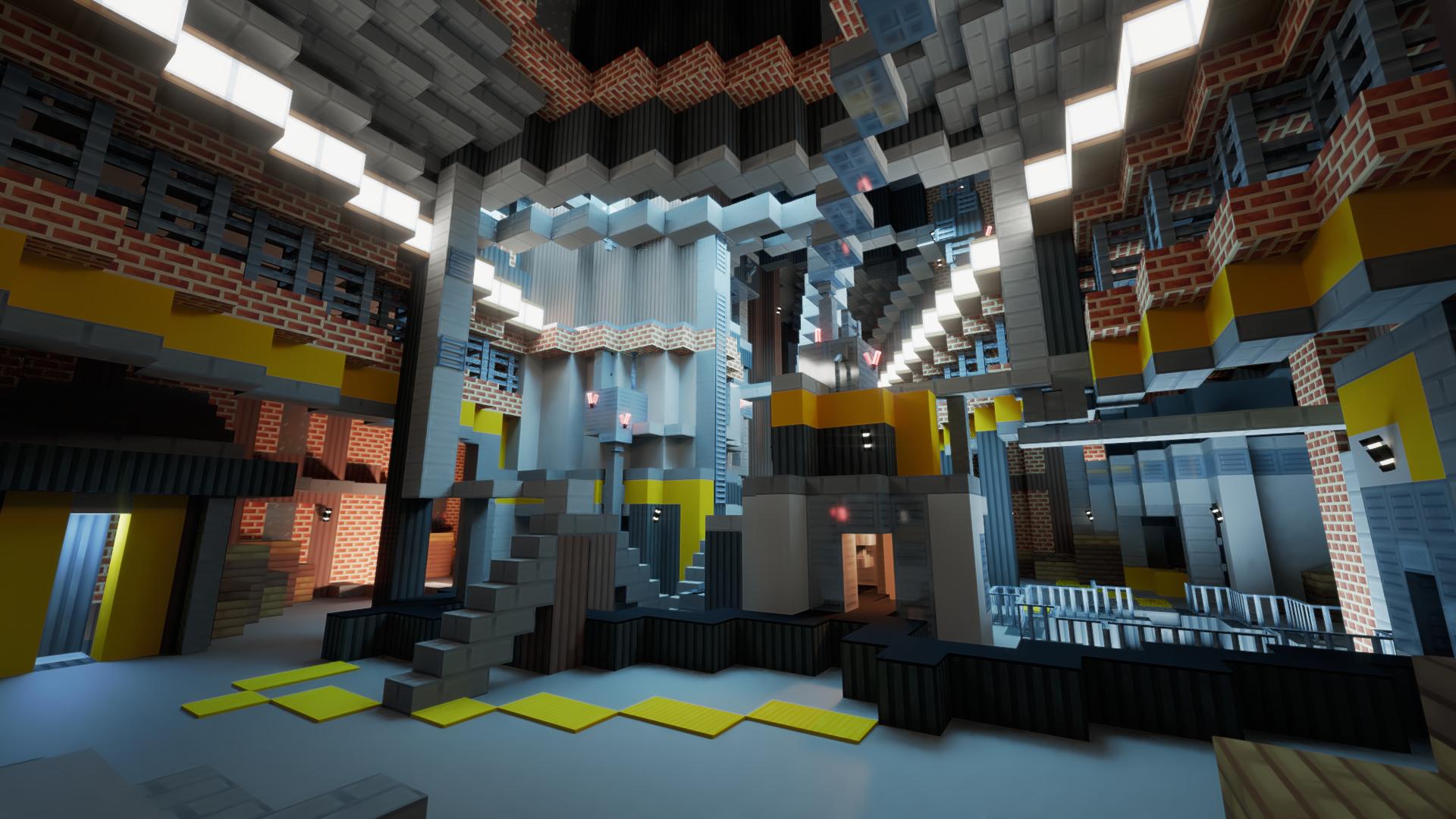Interior Render - 5 - Factory