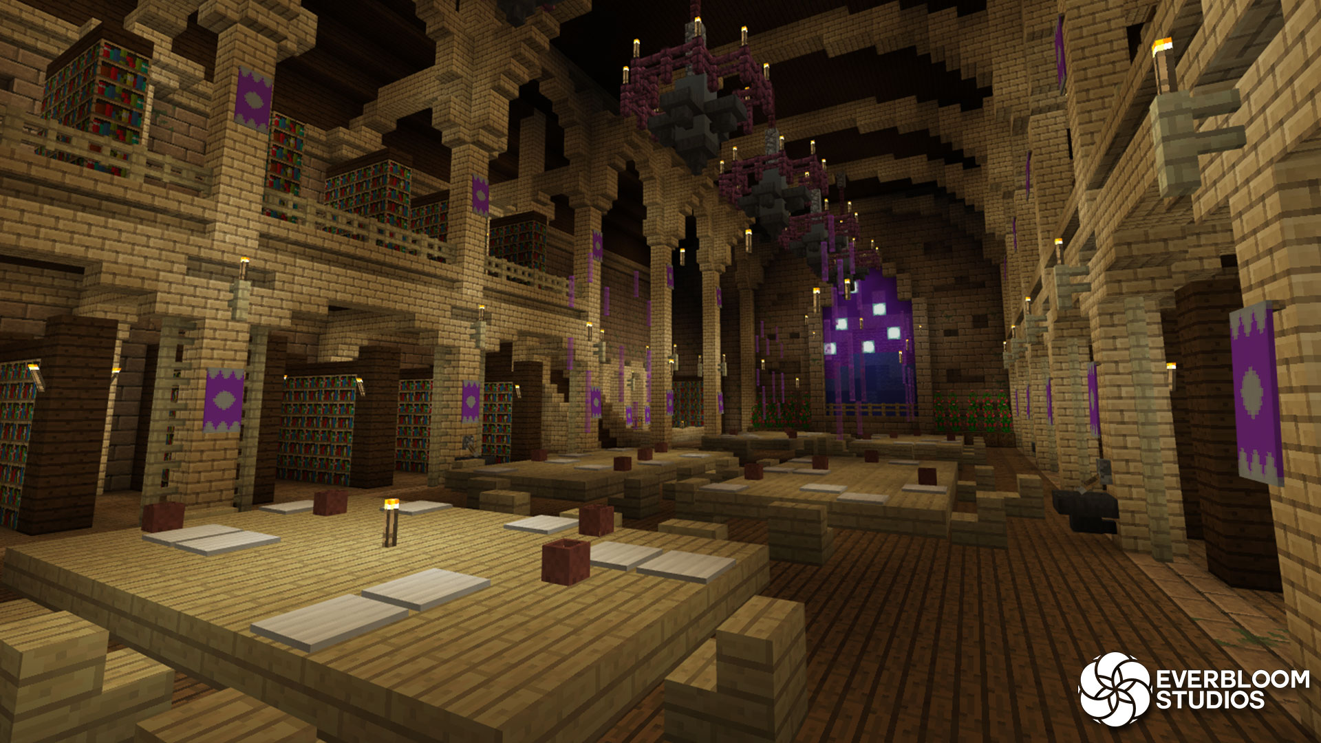 Wizard School Roleplay - Minecraft Marketplace Map