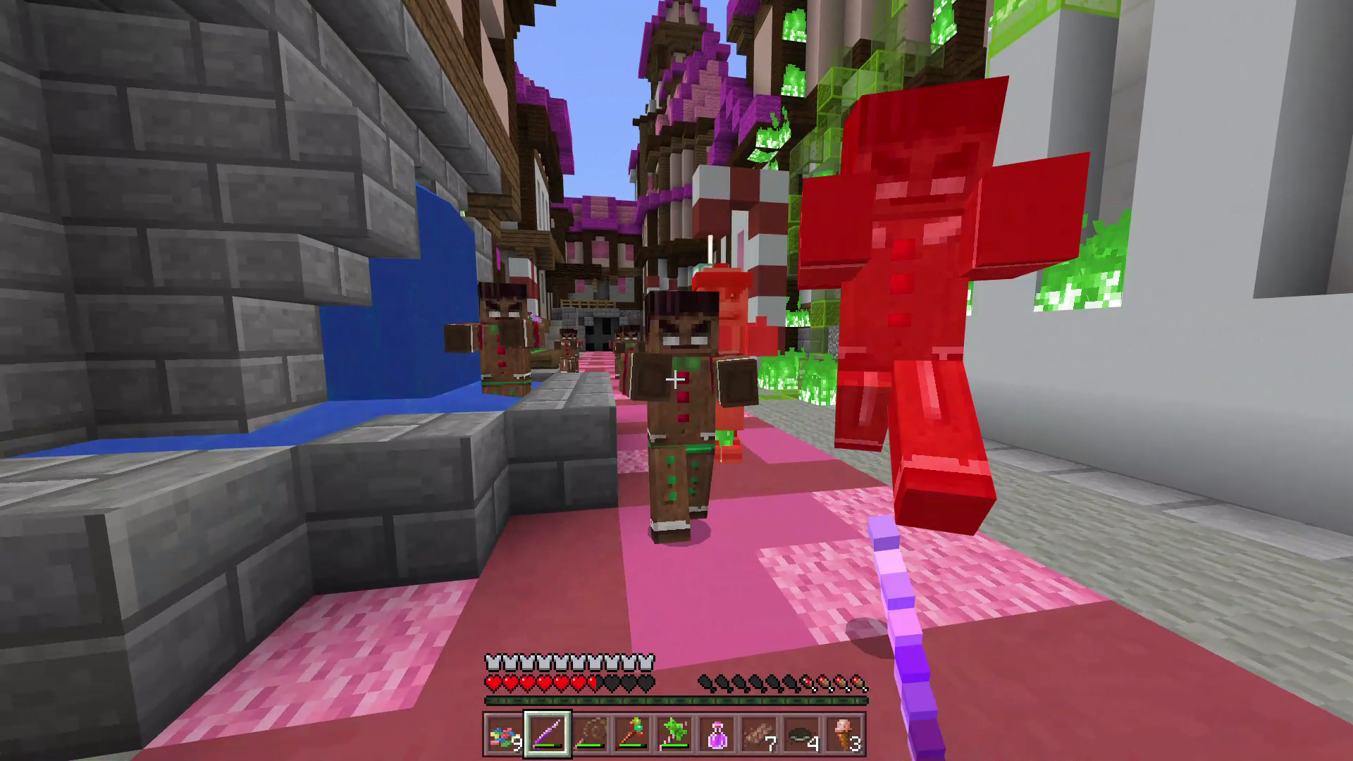 A Nightmare in Candyworld - Minecraft Marketplace Map - Available now!