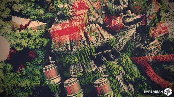 Minecraft Build World Download Everbloom Studios screenshot 3 Machine Jungle