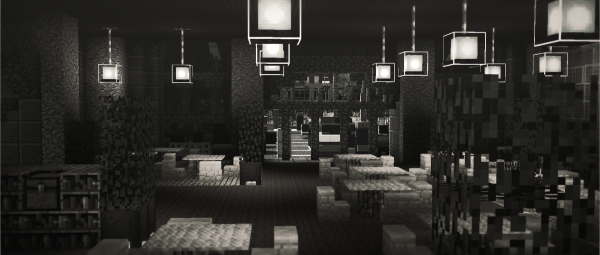Minecraft New York City Build Everbloom Studios screenshot 5  Cafe Restaurant