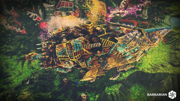 Minecraft Build World Download Everbloom Studios screenshot 5 colorfull colourfull Art Jungle