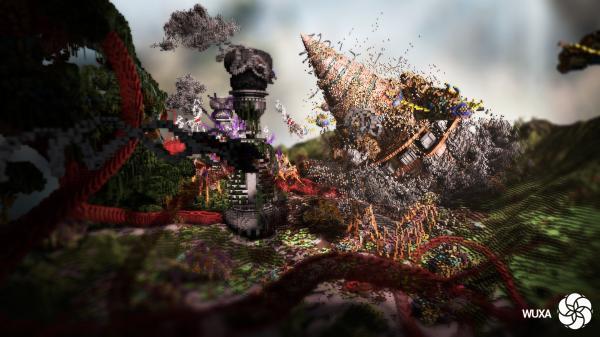 Minecraft Build World Download Everbloom Studios screenshot 2 Drill Machine