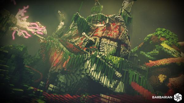 Minecraft Build World Download Everbloom Studios screenshot 4 Jungle Cannon